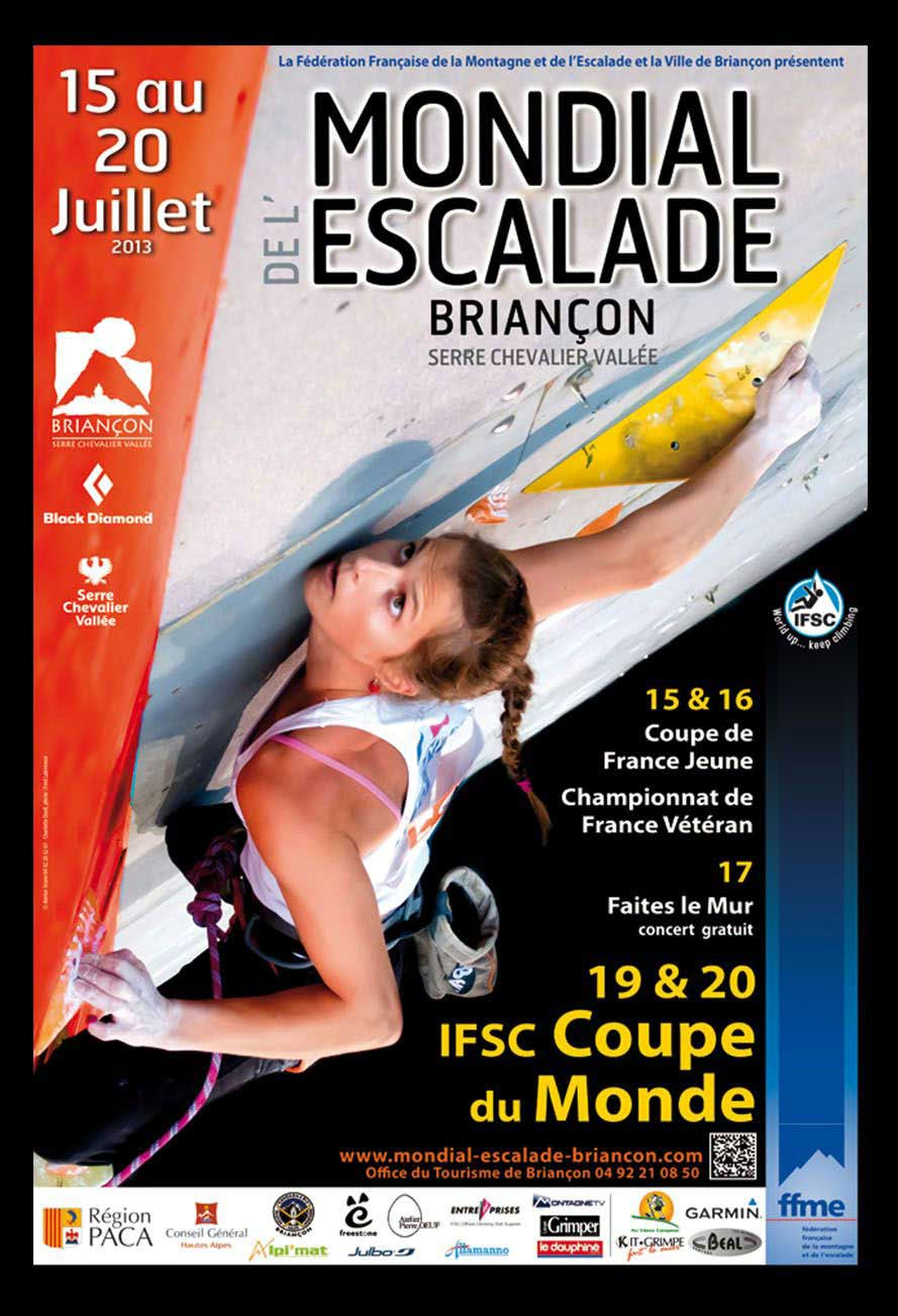 World Climbing in Briançon